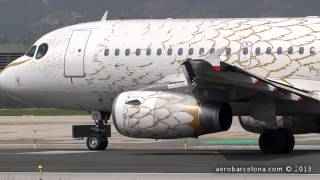 "[FULL HD] British Airways A319-131 ""The Dove-Pascal Anson 2012"" Take-off Barcelona-El Prat"