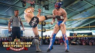 WWE UK Tournament: El Ligero vs. Travis Banks
