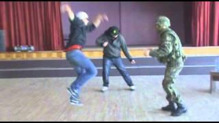 Latvian Rave in school. Dj Mike - Blackjack