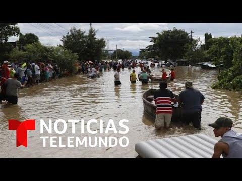 Al menos 50 muertos en Centroamérica tras el paso del huracán Eta | Noticias Telemundo