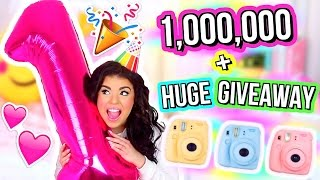 I LOVE YOU! 1 MILLION SUBSCRIBERS + Huge Giveaway!