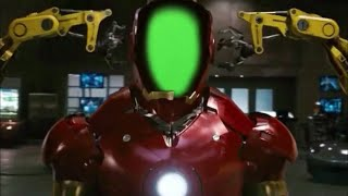 Green Screen Iron Man Mark III Suit Up with improved HUD requested by Alex AB Productions