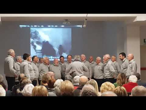 Bombardano Cortina : Coro Alpe::Concerto Commemorazione fine Centenario Grande Guerra a Casa di Marta  Saronno   04 Novembre 2018