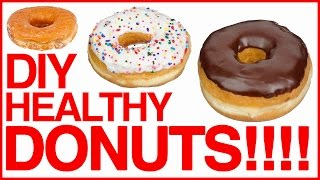 DIY HEALTHY DONUTS?!  | Save My Sweet Tooth