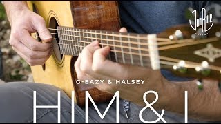 Him & I - G-Eazy/Halsey - Acoustic Fingerstyle Guitar Cover