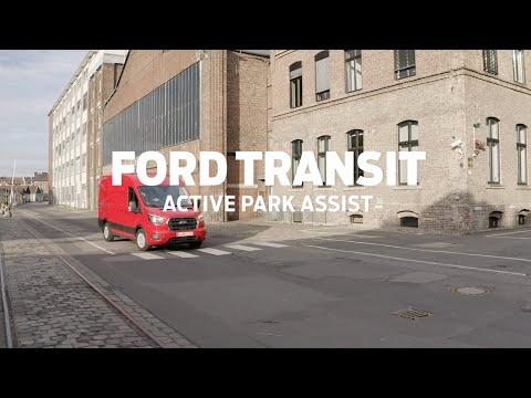 Ford Transit with Active Park Assist technology