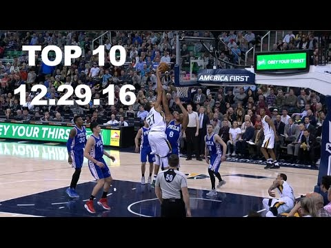 Top 10 NBA Plays of the Night: 12.29.16