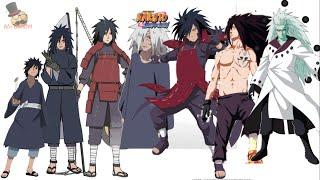 Naruto characters: Uchiha Madara's Evolution