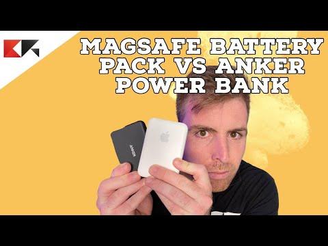 MAGSAFE BATTERY PACK VS ANKER POWER BANK …