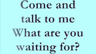 Talk To Me - Keri Noble - LYRICS