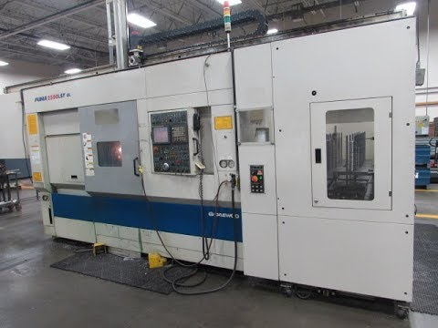 Daewoo Puma 2500LSY GL CNC Turning Center With Gantry Station For Sale At www.machinesused.com
