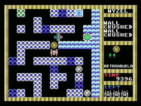 Pequeño análisis y gameplay de Drainer (MSX) - 1987 Fun Project/Victor