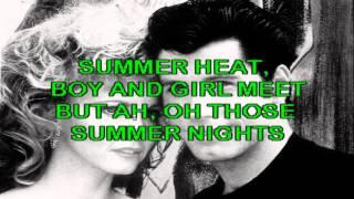 Karaoke - Summer Nights - John Travolta y Olivia Newton - Descarga Karaoke