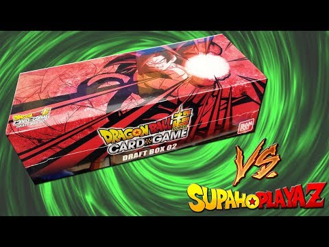 Dragon Ball Super Draft Box 2 Opening vs Supah Playaz!