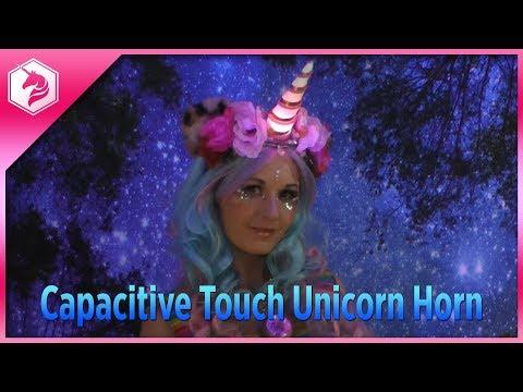LEARN: Capacitive Touch Unicorn Horn @adafruit #adafruit