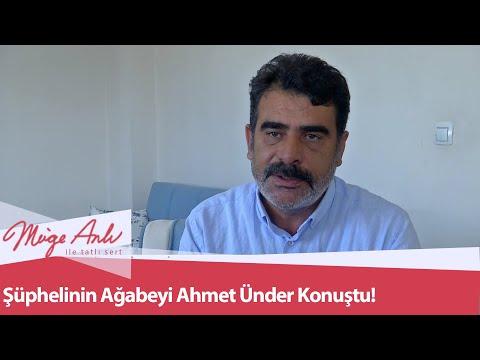 Şüphelinin ağabeyi Ahmet Ünder konuştu! - Müge Anlı İle Tatlı Sert 22 Eylül 2020
