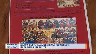 Seara culturala dedicata icoanelor in Parohia Marcuta