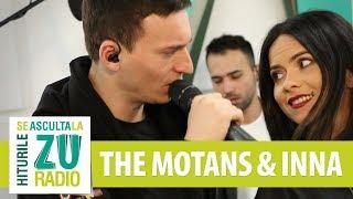 The Motans & INNA - Nota de plata (Live la Radio ZU)