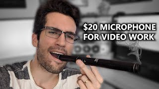This $20 Microphone DOESN'T Suck