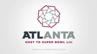 Atlanta Super Bowl Host Committee Logo Reveal