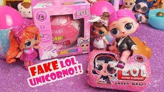 LOL Surprise FAKE! 🦄 LOL UNICORNO, mini Under Wraps e due Ovetti [Unboxing]