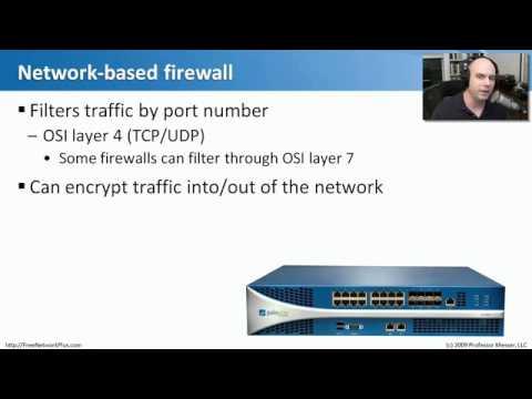 Network+ Ağ Güvenliği: 01. Güvenlik Aygıtları.flv