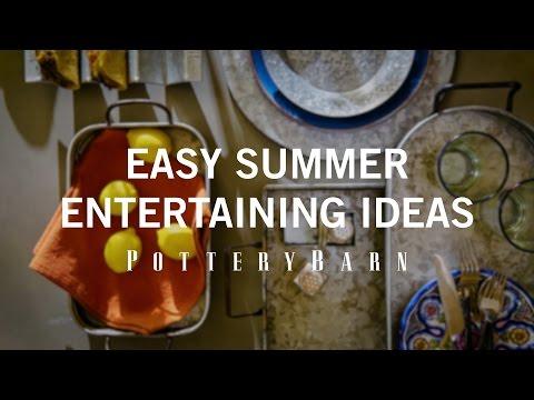 Easy Summer Entertaining Ideas