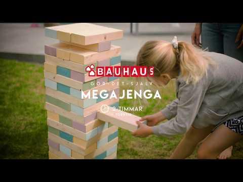 BAUHAUS Gör det själv - Bygg ett megajenga