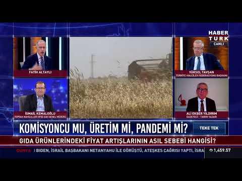 Teke Tek'te salgın döneminde tarım konuşuluyor… #YAYINDA