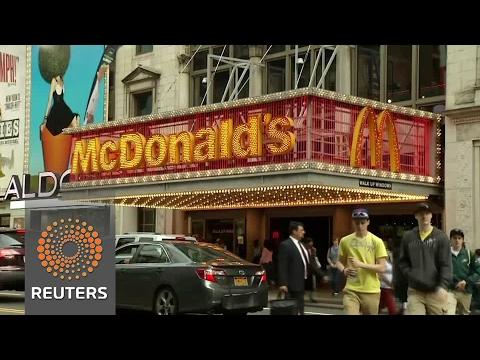 McDonald's sales fall in U.S.