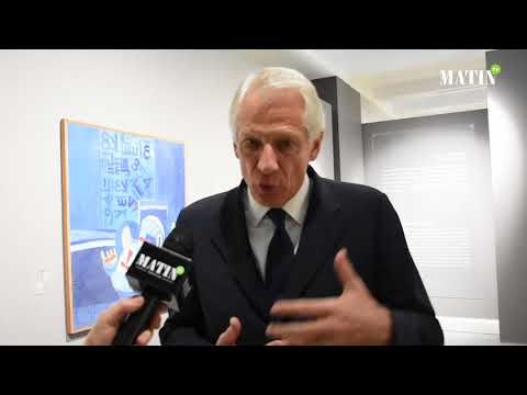 Video : Dominique de Villepin, invité du Musée Mohammed VI d'art moderne et contemporain