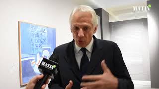 Dominique de Villepin, invité du Musée Mohammed VI d'art moderne et contemporain