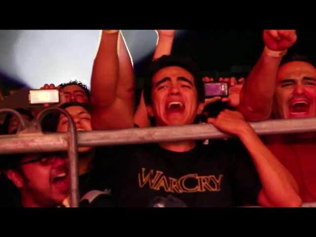 """Videoclip oficial de la canción """"Quiero oírte"""" de WarCry."""