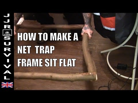 How To Make a Heavy Net Trap Frame