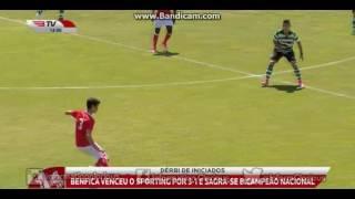 Iniciados 'A': SL Benfica 3-1 Sporting CP