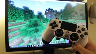 How to Connect a PS4 Controller to PC TO PLAY GAMES! (EASY METHOD)