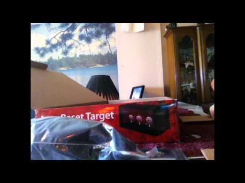 Crosman Airsoft Auto Reset Target unboxing