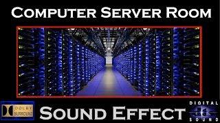 Computer Server Room Sound Effect | Server Room SFX | HD