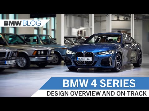 New BMW 4 Series - Track Driving and Design Overview