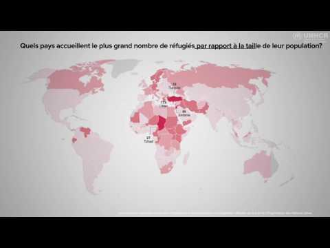 Les pays les moins avancés accueillent la majorité des personnes déracinées