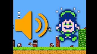 Super Mario Bros. 2: Unused death DPCM sound effect