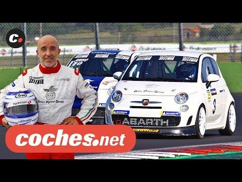 Participamos en la 5ª carrera del Trofeo Abarth en Vallelunga | coches.net