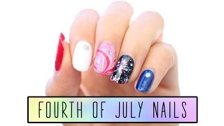4th of July Nail Tutorial