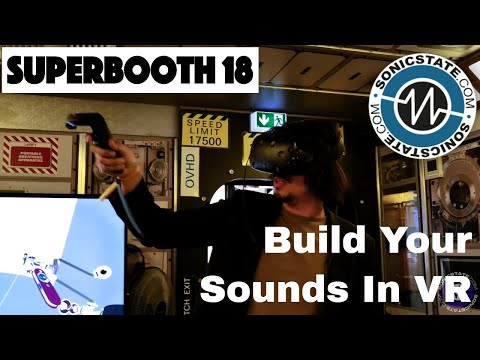 Superbooth 2018: Coolest Booth? Build Sounds Like LEGO in VR