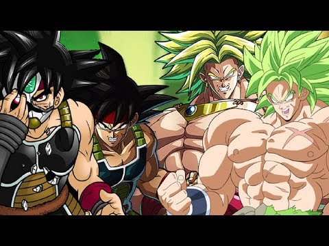 BROLY VS BARDOCK POWER LEVELS OVER THE YEARS