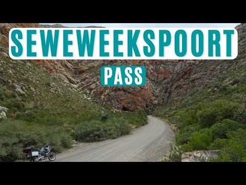 Ride through Seweweekspoort Pass in the Karoo in South Africa