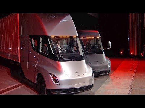 Tesla Semi (2020) The Quickest Semi Truck
