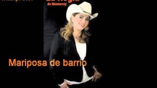 LA REGIA DE MONTERREY .. COVER....MARIPOSA DE BARRIO