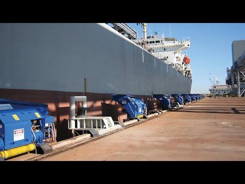 MoorMaster™ automated vacuum mooring at Port Hedland bulk terminal