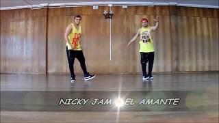 """GRUPO ZUMBA Z-2  """"NICKY JAM - EL AMANTE"""""""